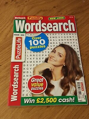 Family Wordsearch - Issue 330 - Word Search Puzzle Book - Over 100 Puzzles!