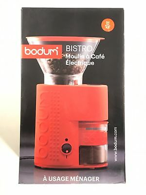 Bodum Bistro Burr Grinder Electronic Coffee W Continuously Adjule