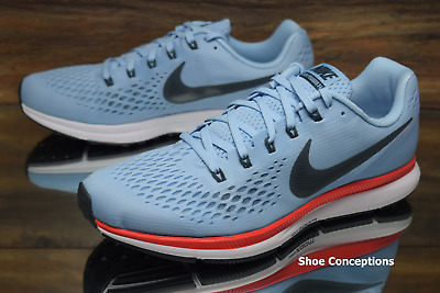68d7c0e9d746 Nike Air Zoom Pegasus 34 Ice Blue 880555-404 Running Shoes Men s Multi Size