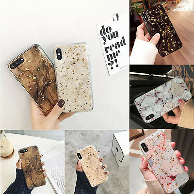 For iPhone XS Max XR 8 7 6 Plus Glitter Soft TPU Case Paillette Shockproof Cover