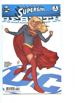 Supergirl Rebirth 1B NM (2016) & Supergirl Being Super Book Four (lot of 2)