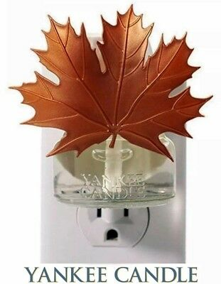 YANKEE Candle HOME SCENT Plug in Fragrance Oil Electric Base Diffuser Maple LEAF