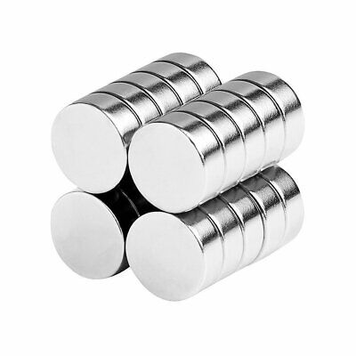1/2 x 3/16 Inch Strong Neodymium Rare Earth Disc Magnets N52 (20 Pack)