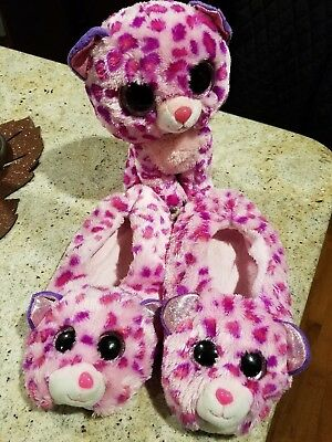 e21078a2f2d TY BEANIE BOO Plush and Slippers -  12.00