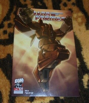 Transformers Generation One Volume 3 #1 Sunstorm Retailer Incentive Comic DW