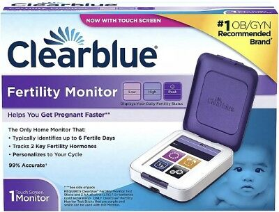 Clearblue Fertility Monitor Touch Screen - Factory Sealed!