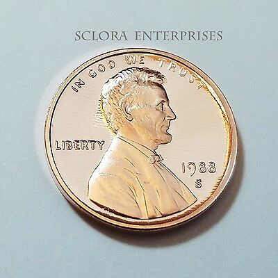 1988 S Lincoln Memorial *proof* Cent / Penny  **free Shipping**