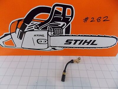 Stihl MS210 MS230 MS250 Oil Line Hose Tube Filter Bracket. Genuine OEM. FREE S&H