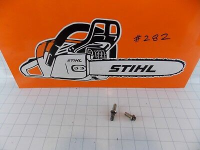 Stihl MS210 MS230 MS250 Stud Bolt Toolless. Genuine OEM. FREE S&H