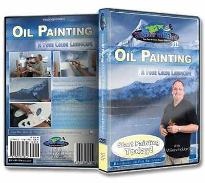 "Wilson Bickford - Video Art Lessons ""Oil Painting: 4 Color Landscape"" DVD"