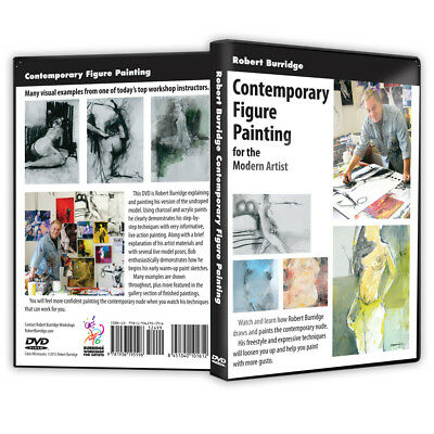"Bob Burridge ""Contemporary Figure Painting"" DVD"