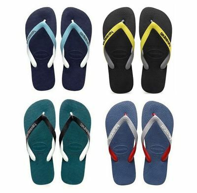 5587659412d3 HAVAIANAS BRAZIL TOP Mix Men Rubber Flip Flops All Sizes Many Colors ...