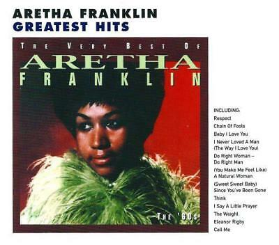 ARETHA FRANKLIN The Very Best Of Volume 1 The 60s NEW & SEALED CLASSIC SOUL CD