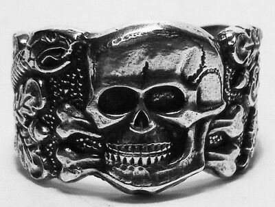 Deutscher Ring Totenkopfring Antipartisanenring