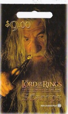 New Zealand 2001 Lord of the Rings - The Fellowship Mint Booklet