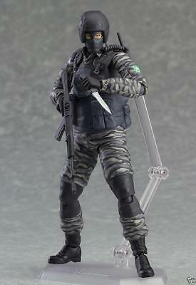 New Figma 298 Metal Gear Solid 2 Sons of Liberty soldier Action Figure Figurine