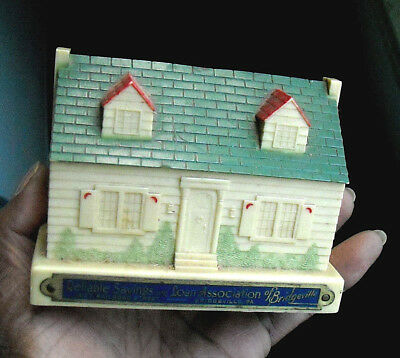 1923 Chicago Thrift Co Plastic & Metal Still Bank Advertising Promotional