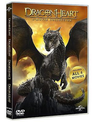 Dragonheart 1-4 DVD Box, Collection, I-IV, 1,2,3,4 Dvds, neu/ovp deutsch, FSK12