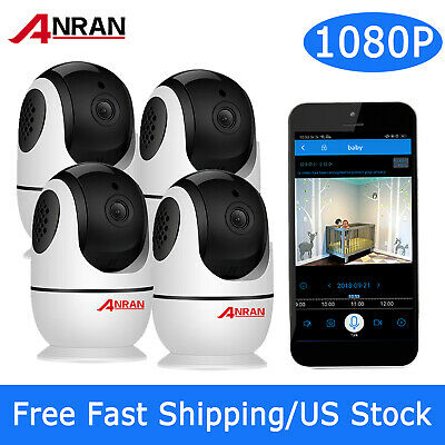1080P WiFi Wireless Security Camera Baby Monitor 2Way Audio Motion Detect System
