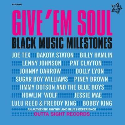 GIVE 'EM SOUL VOL 3 Various NEW & SEALED R&B NORTHERN SOUL LP VINYL (OUTTA SIGHT