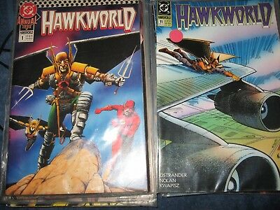 HAWKWORLD comic lot 1*