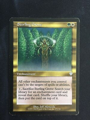 Gold Invasion Mtg Magic Uncommon 1x x1 1 PLAYED Sterling Grove