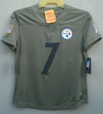 6491ce5eb Nike Ben Roethlisberger Womens Salute To Service Pittsburgh Steelers Jersey   160