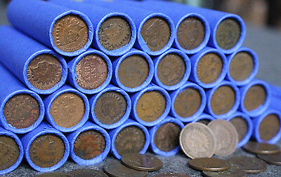 Vintage Indian Head Cent Us Wheat Penny Estate Sale Rare Indian Head Collection