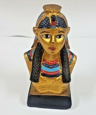 EGYPT Ancient Resin Egyptian Pharaoh Figurine Statue Sculpture Home Decoration