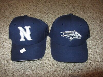 hot sale online 4b32b d16d0 2 Lot NWT Nevada Wolfpack Cap Hat Zephyr NCAA Football Retro Rare 7 Zhats  Navy