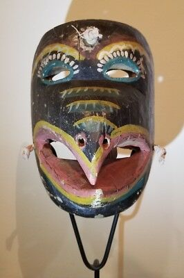 Pajaro/Bird Mask from Puebla or Veracruz Mexico Folk Art