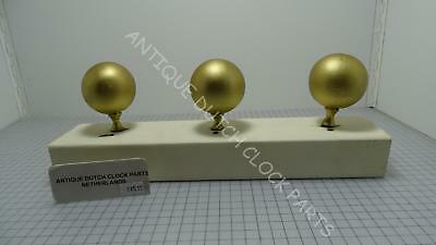Antique Top Ornaments Gold Sphere's For Dutch Friesian Tail Wall Clock