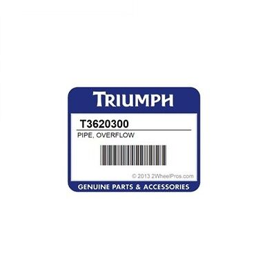 Tubo Sfiato Radiatore Triumph T3620300 - Pipe Overflow Cooling System