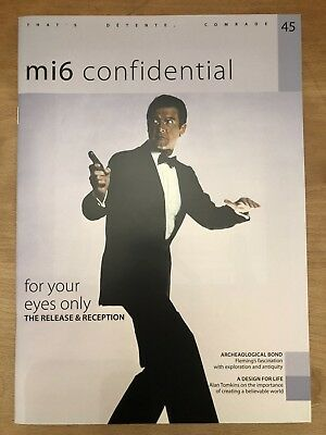 James Bond 007 mi6 Confidential Magazine - Issue 45 - Roger Moore cover