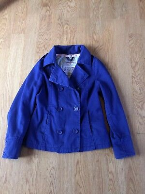 Johnnie B Boden Royal Blue reefer Type jacket Small 11-12 yrs VGC
