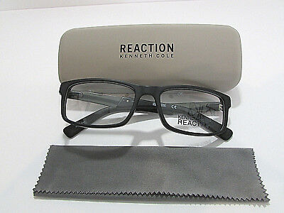 c61e338b28 Kenneth Cole Reaction KC0771 KC 0771 002 Matte Black Eyeglasses Rx-Able  Frame