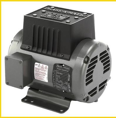 R-5  5 Hp - 220 Vac - Phase-A-Matic Rotary Phase Converter