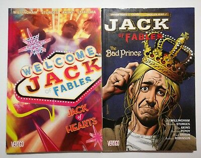 Jack of Fables Vol2: JACK OF HEARTS & Jack of Fables Vol.3:  The bad Prince