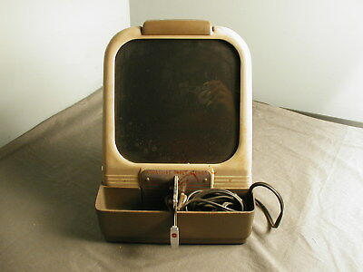 VINTAGE KODASLIDE TABLE VIEWER - MODEL A SERIES 2 - LIGHTS & TURNS ON - PARTS jr