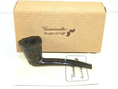 Vintage Caminetto Pipe Unsmoked Estate Smoking Tobacco Pipe 7-L-12
