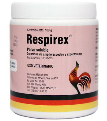RESPIREX 100 gram WATER SOLUBLE/ Rapid treatment of respiratory diseases