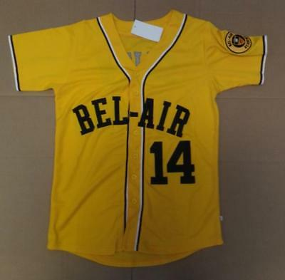 8e7093cd2d5 14  Baseball Jersey Bel-Air Academy Will Smith Embroidery Stitched Fresh  Prince