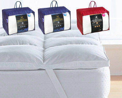 Luxury Duck/Goose Feather & Down Mattress Topper Mattress Cover In All Sizes