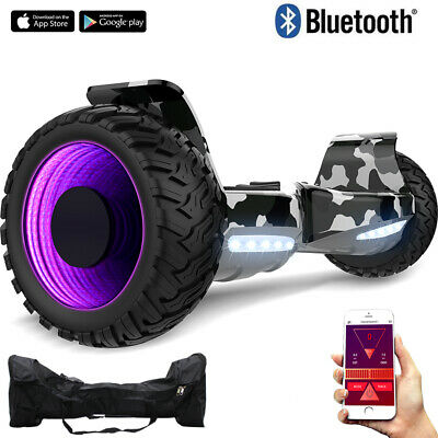 Hoverboard 8.5'' Bluetooth&App Elettrico Scooter Smart Balance Off Road Ul2272