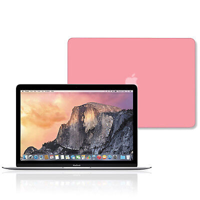 Ultra Slim Hard Shell Snap on Protective Case Baby Pink For Macbook 2018 A1989