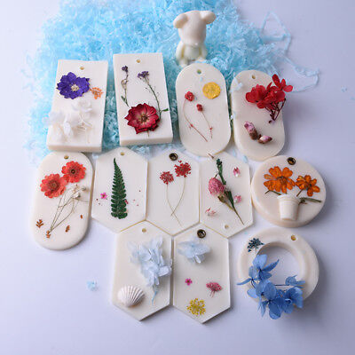 Aromatherapy Wax Tablets Gypsum Mould silicone Pendant soap plaster tablet craft