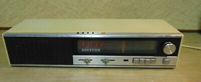 NEUFUNK - vintage radio with alarm – 1970's - Germany