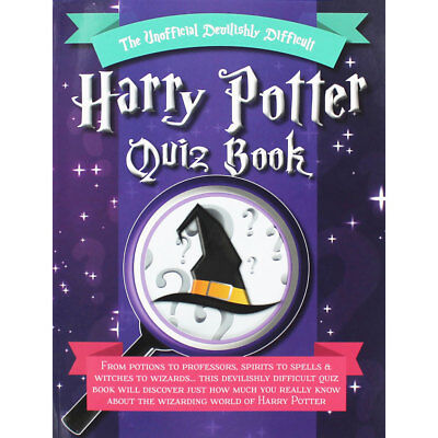 The Unofficial Devilishly Difficult Harry Potter Quiz Book, Brand New