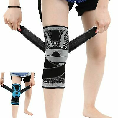 Full Knee Support Brace Bandage Protection Sports Strap Compression Pad Sleeve