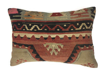 Vintage Kilim Cushion Cover Kelim Pillow 60x40cm Moroccan style 64146